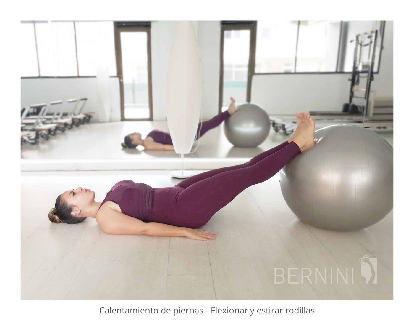 pilates fitball bernini wellness