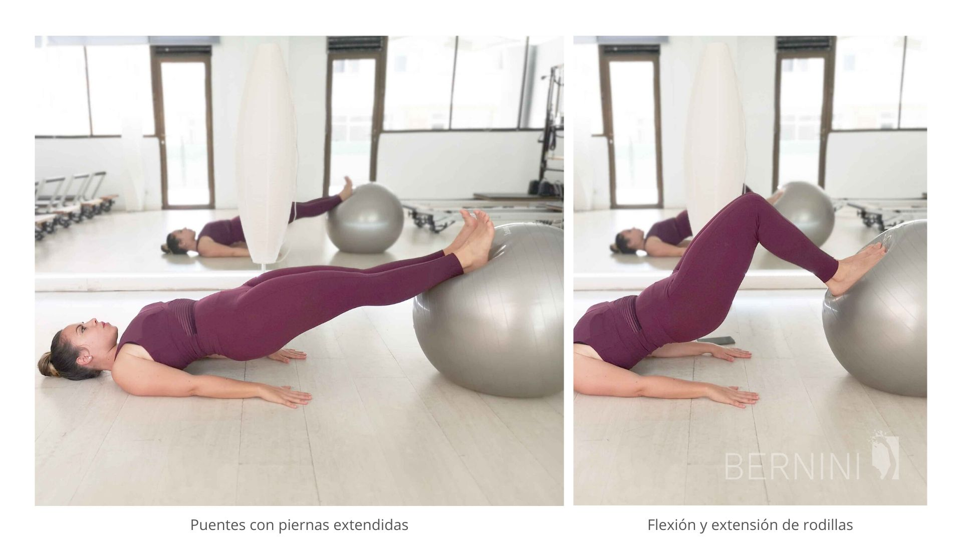 puentes fitball pilates bernini wellness