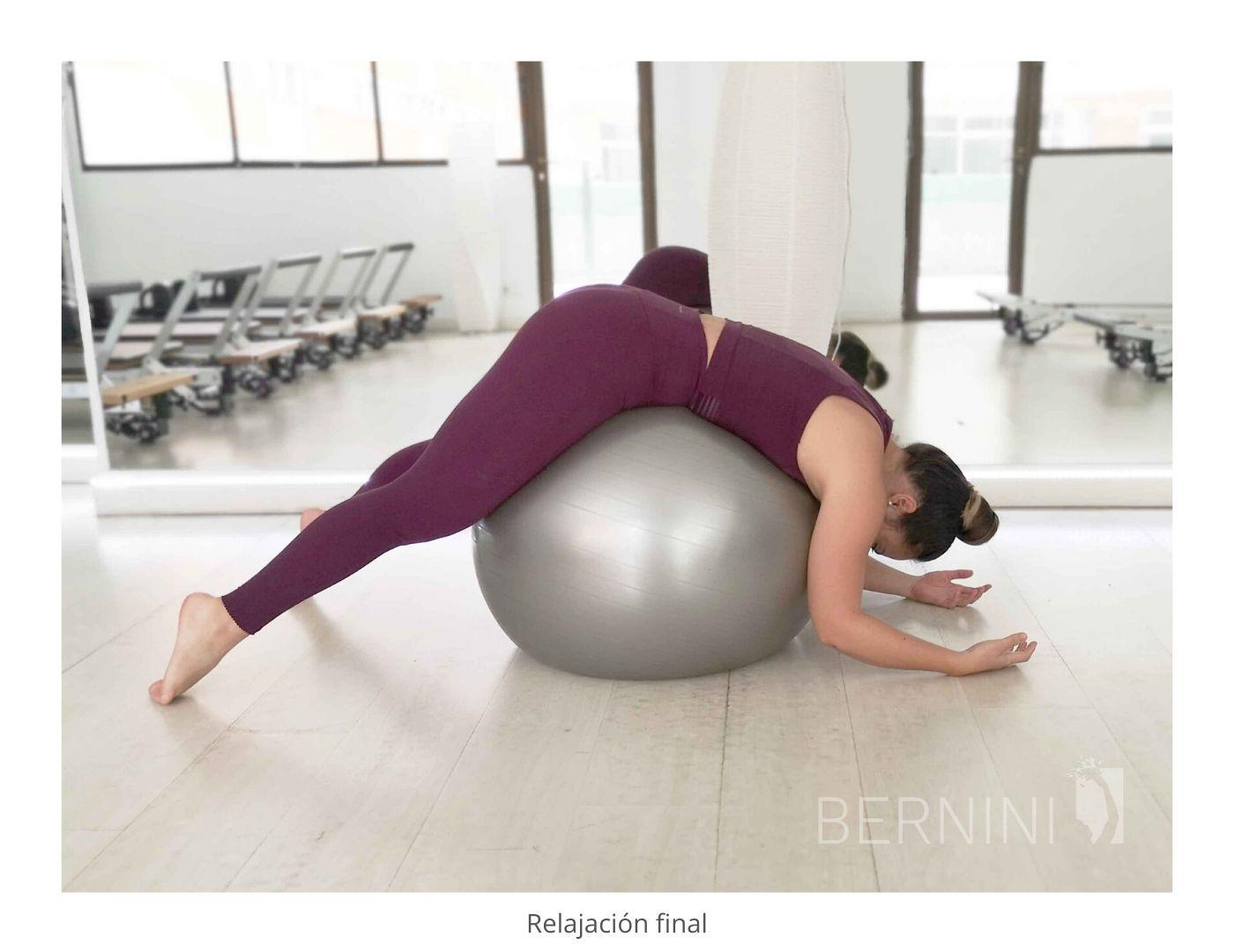 relajación fitball pilates mat bernini wellness