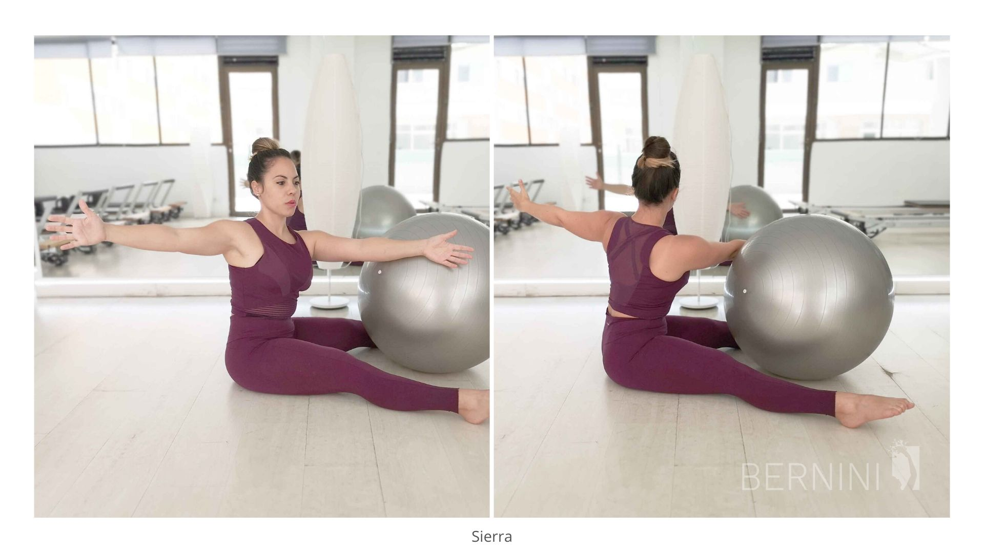 sierra fitball pilates bernini wellness